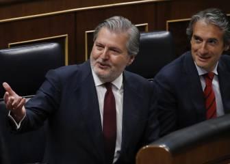 Tres ministros en el último palco europeo del Calderón