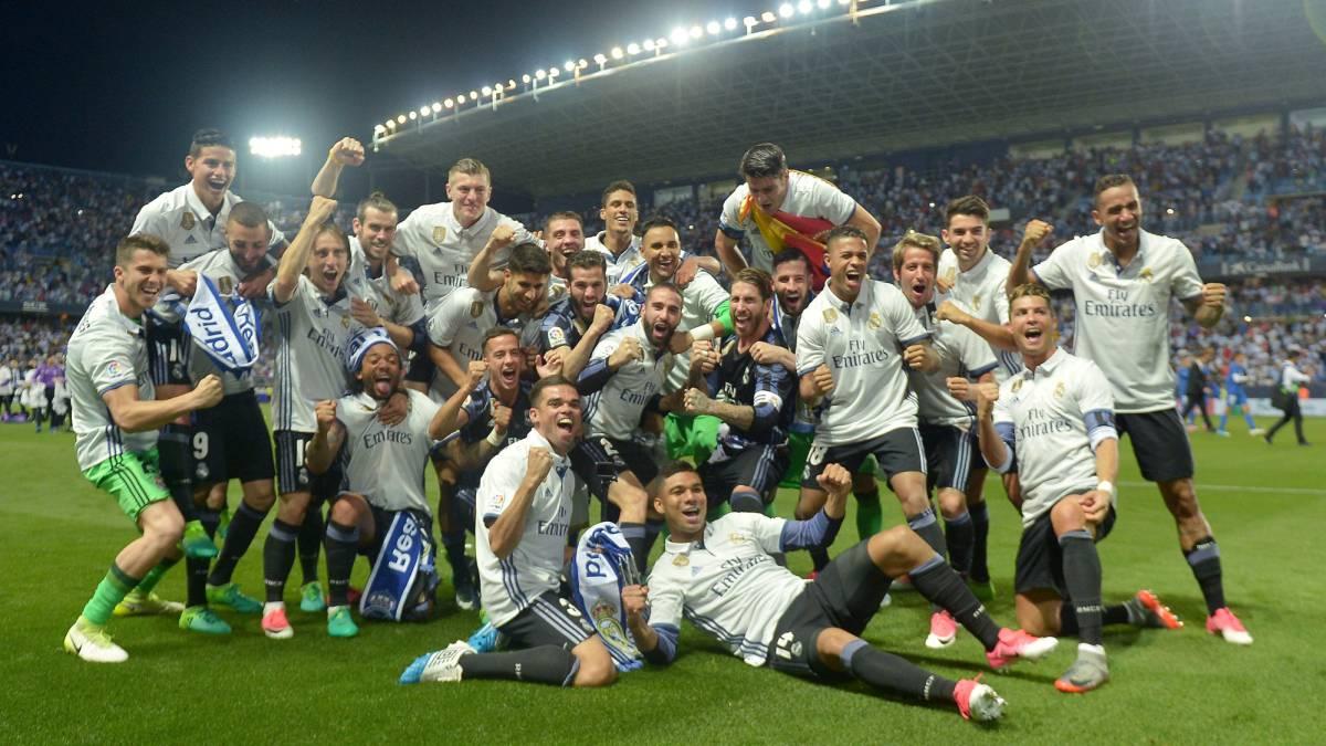 Resultado de imagen para real madrid campeon la liga