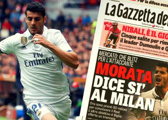 Gazzetta: 'sí' de Morata al Milán