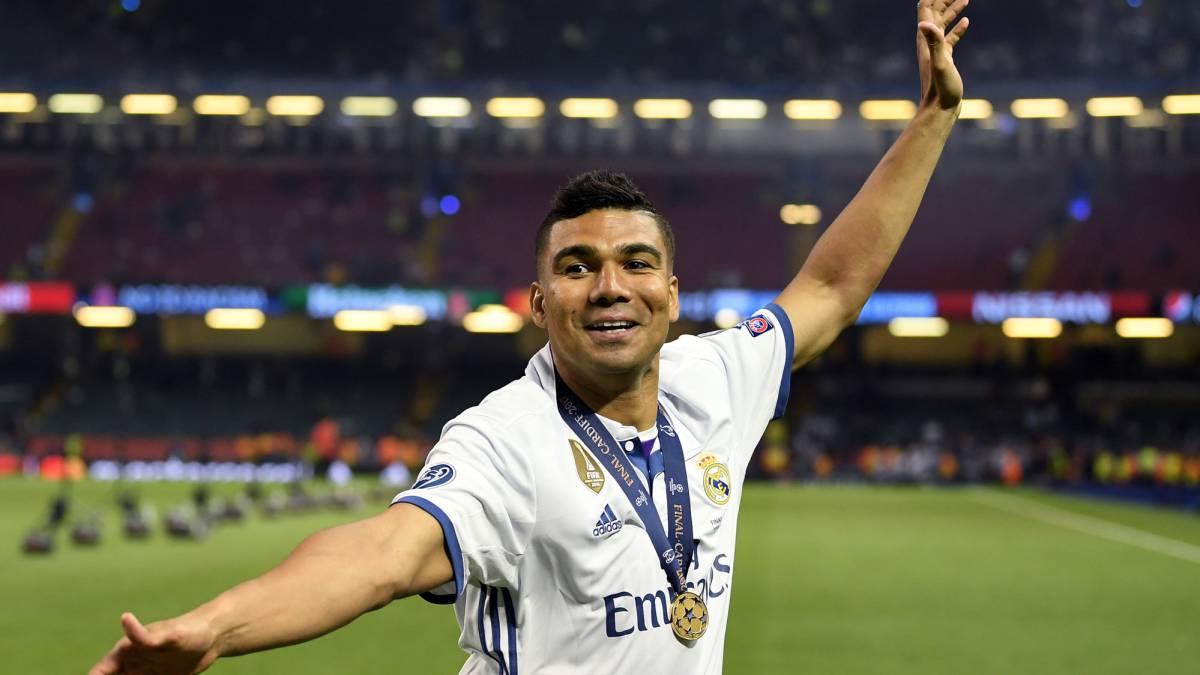 Casemiro tres temporadas en el Real Madrid tres Champions AS