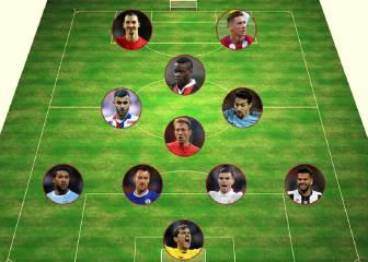 El once ideal de jugadores que acaban contrato este mes