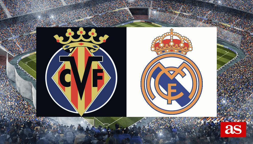 Villarreal Real Madrid Results Summary And Goals