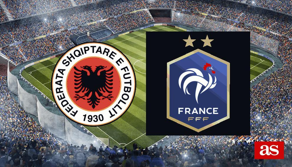 Albania 0-2 Francia: resultado, resumen y goles - AS