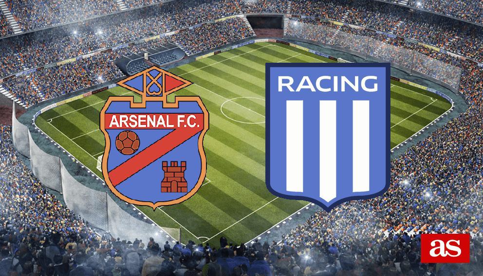 Arsenal de Sarandí 1-0 Racing Club: resultado, resumen y goles