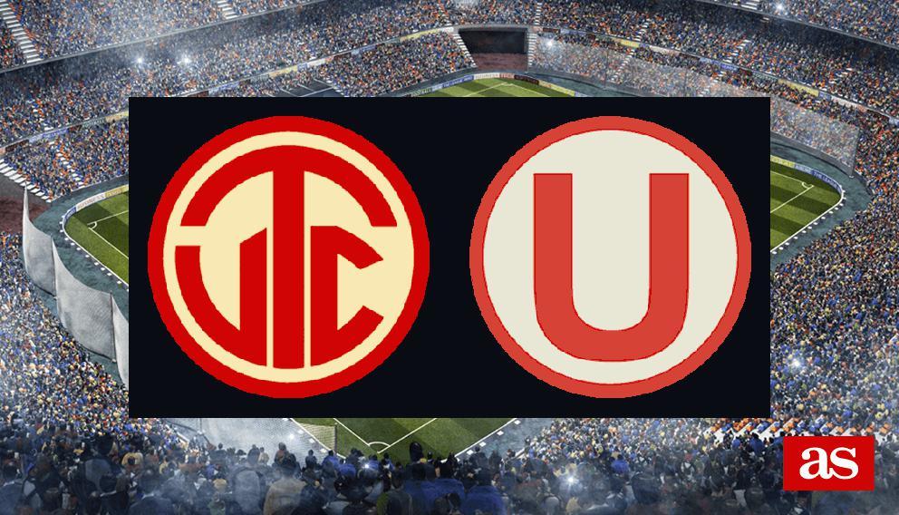 UTC Cajamarca 1-1 Universitario de Deportes: resultado, resumen y goles - AS Resultados