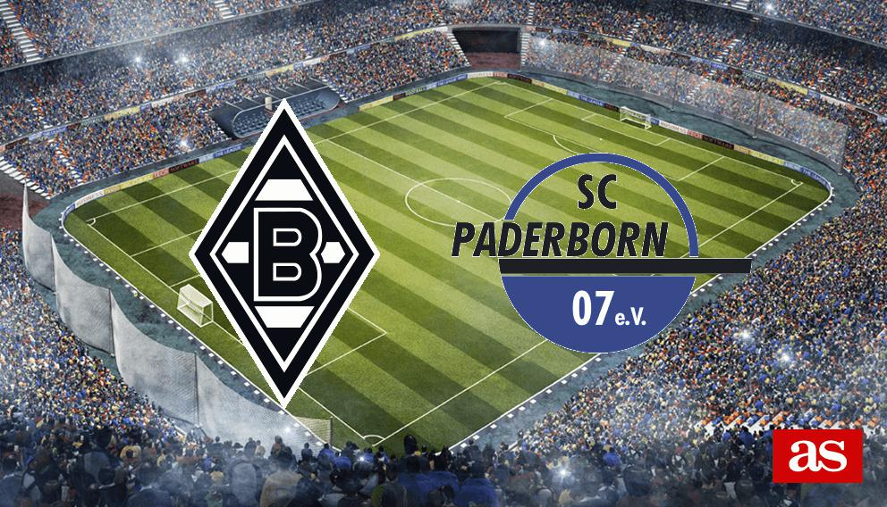 B. MGladbach vs Paderborn 07 en vivo y directo, Bundesliga 2019/2020