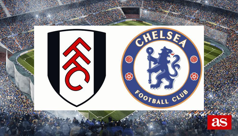 Fulham Vs Chelsea Live Premier League 2018 2019 As Com Stats