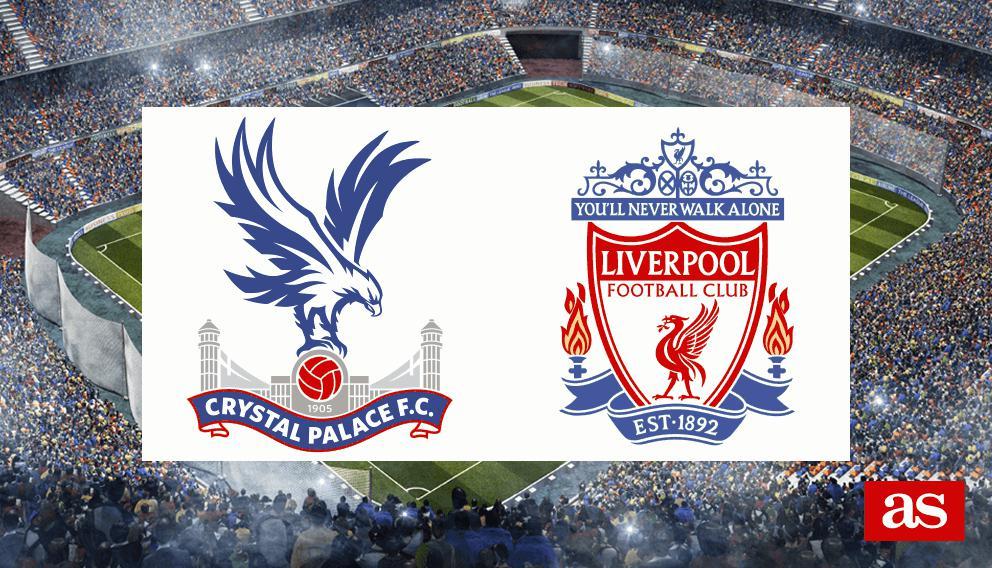 Crystal Palace 1-2 Liverpool: resultado, resumen y goles