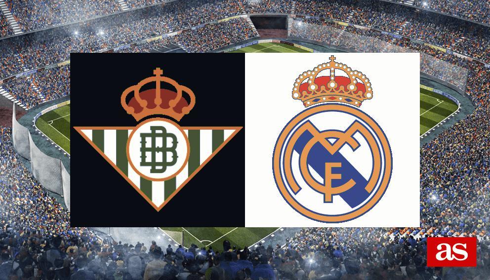 Betis vs Real Madrid: estadísticas previas y datos en directo