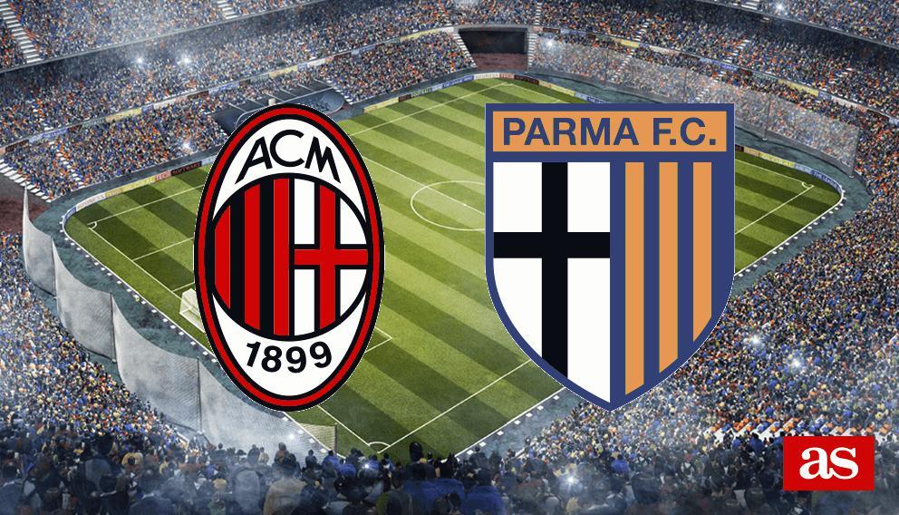 Milan 2-2 Parma: resultado, resumen y goles