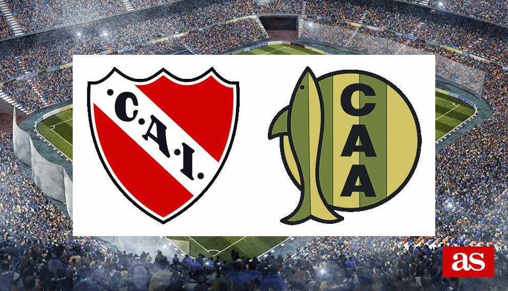 Resultado de imagen para Independiente vs Aldosivi