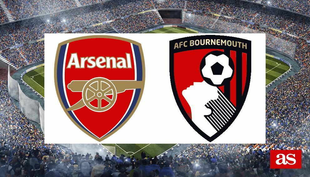 Resultado de imagen para Arsenal vs Bournemouth
