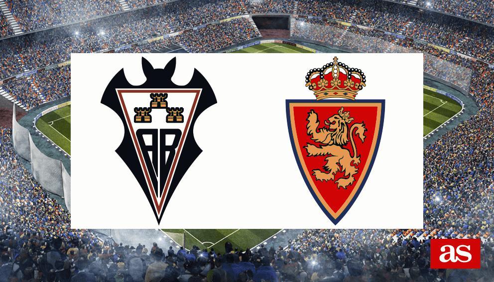 Albacete Vs Real Zaragoza En Vivo Y Directo Laliga Smartbank 2019