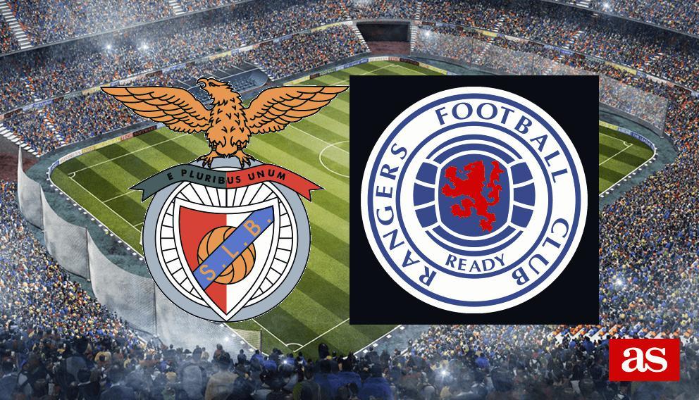 Benfica 3-3 Rangers: resultado, resumen y goles