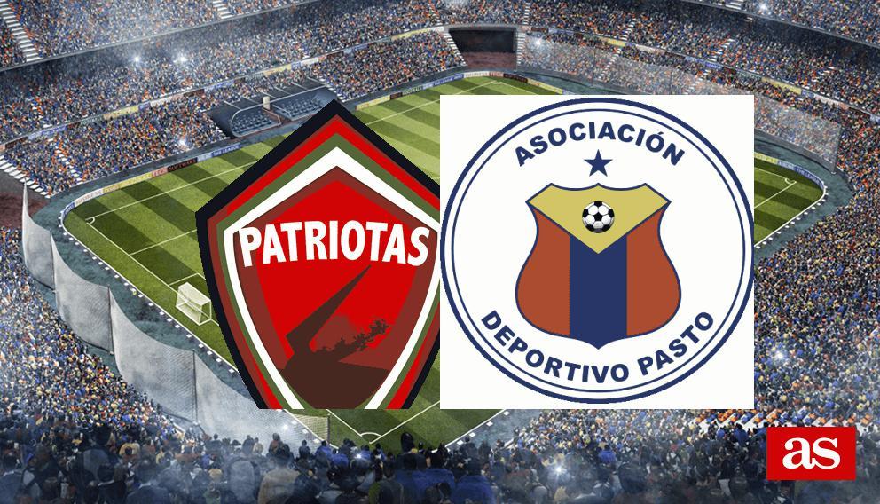 Patriotas 1 1 Pasto Results Summary And Goals