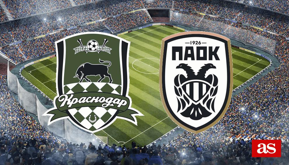 Fc Krasnodar Vs Paok Live Info And Stats