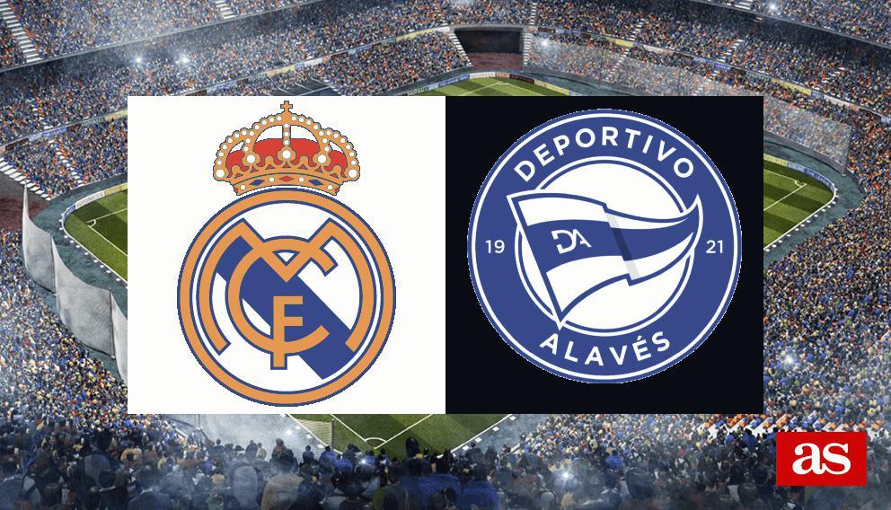 Real Madrid Vs Alaves Previous Stats