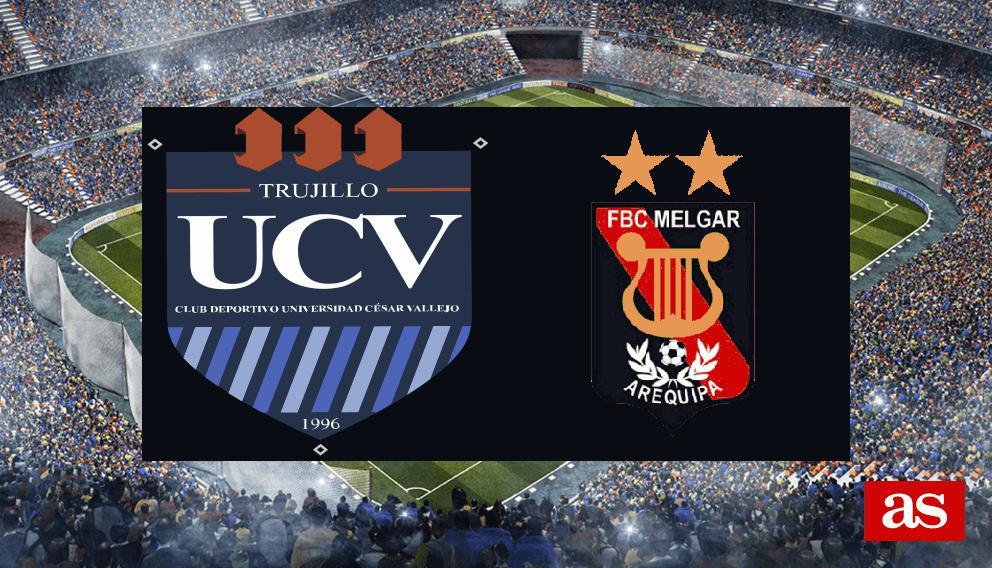 Universidad César Vallejo 0-3 FBC Melgar: resultado, resumen y goles - AS Colombia