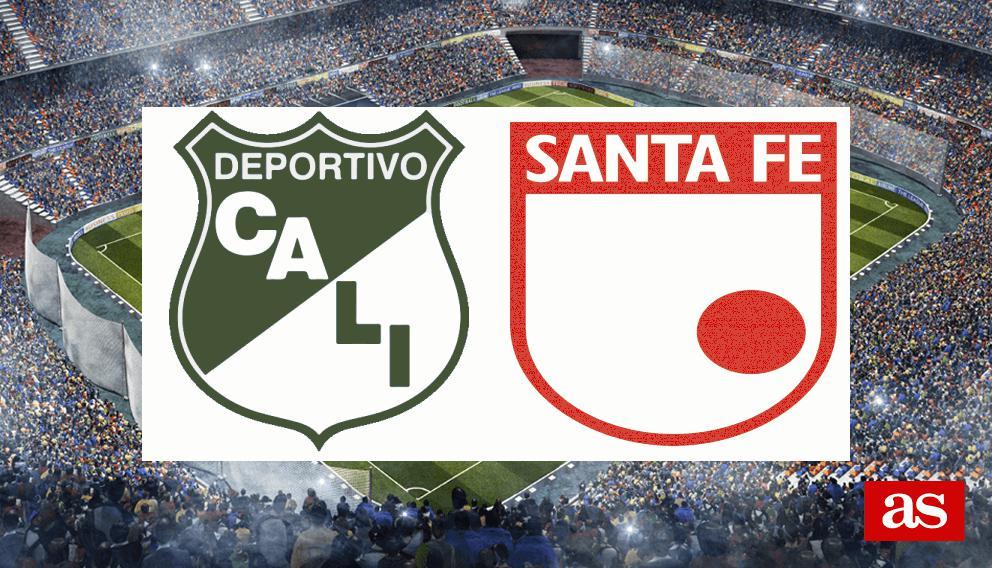 Deportivo Cali vs Santa Fe en vivo y directo, Liga Águila II 2019 - AS Colombia