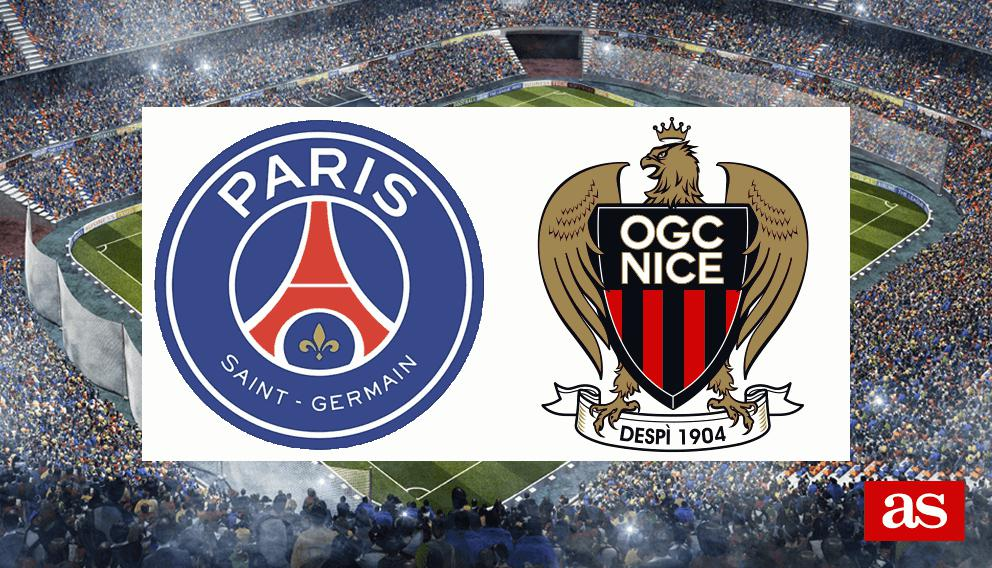PSG 2-1 Niza: resultado, resumen y goles