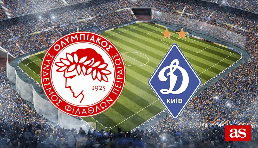 Resultado de imagen para Olympiacos vs Dinamo Kiev