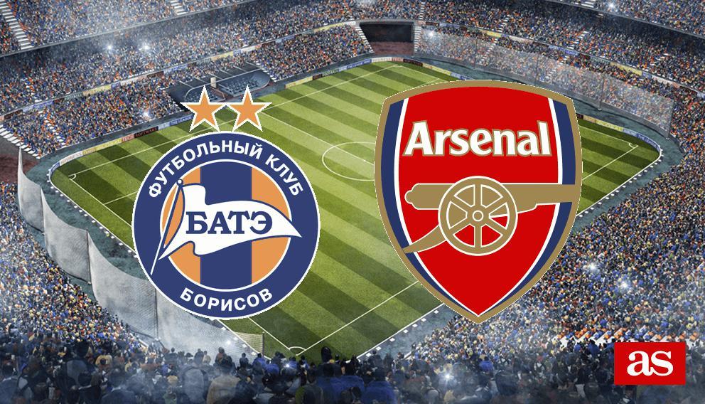 Resultado de imagen para BATE vs Arsenal
