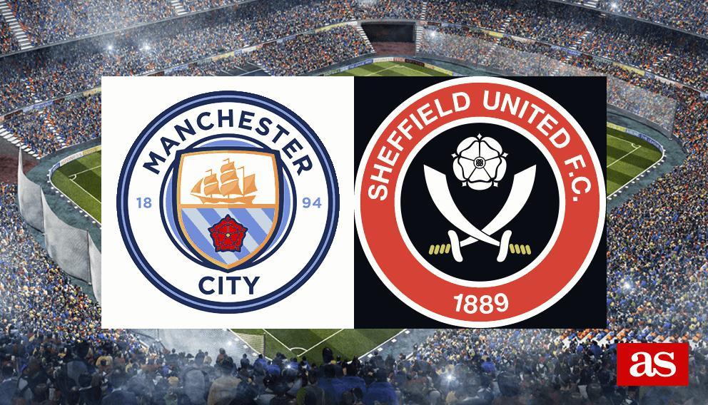 M. City 1-0 Sheffield Utd: resultado, resumen y goles