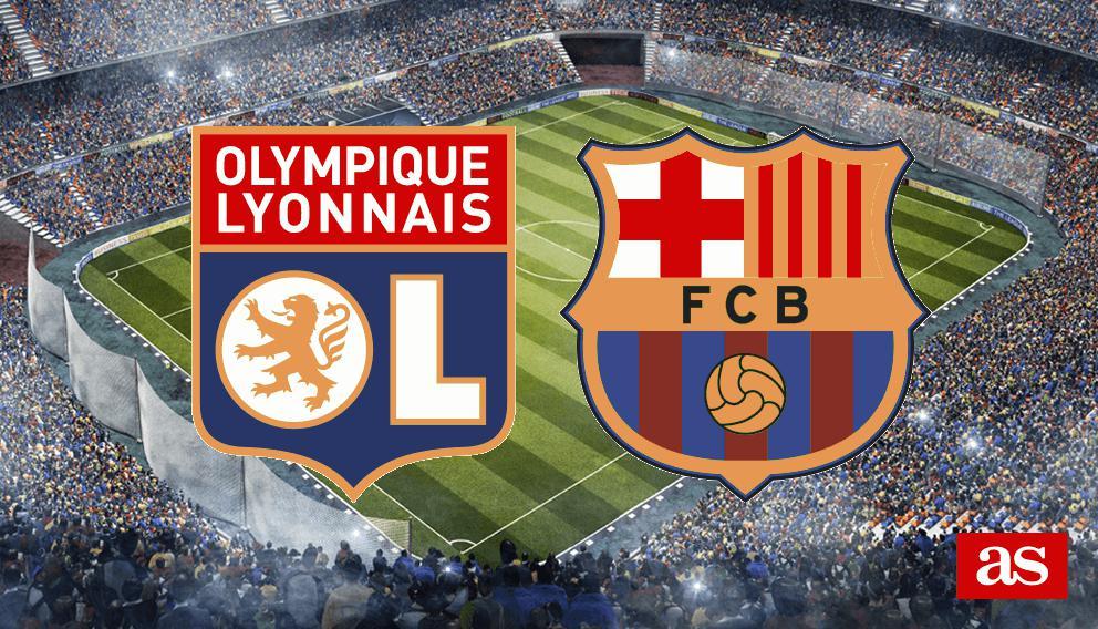 Barcelona Vs Lyon Champions League 2019 Photo: Lyon Vs. Barcelona Live: Champions League 2018/2019