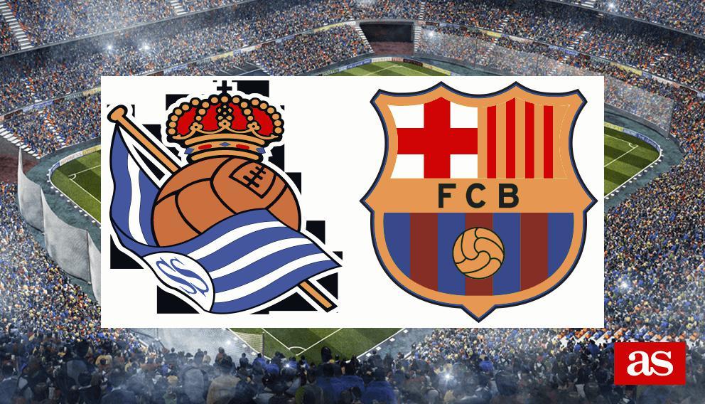 R sociedad vs barcelona live laliga santander 2016 2017 for Championship league table 99 00