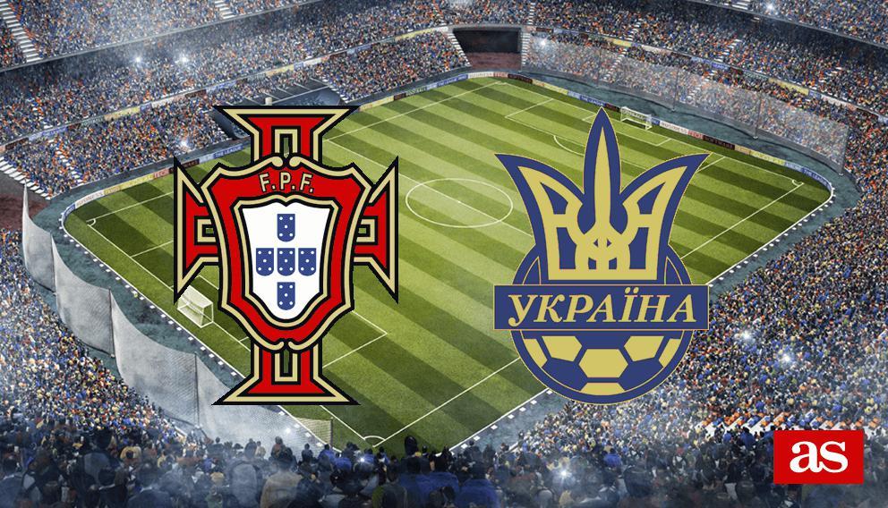 Portugal vs  Ucrania live: Clasificación Eurocopa 2020 - AS com
