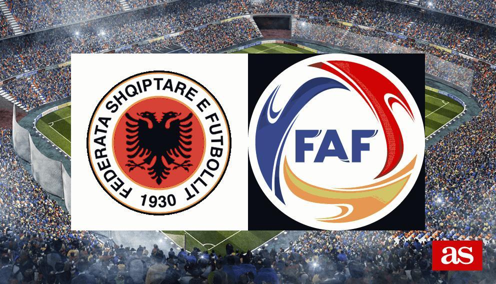 Albania 2-2 Andorra: resultado, resumen y goles - AS.com Móvil