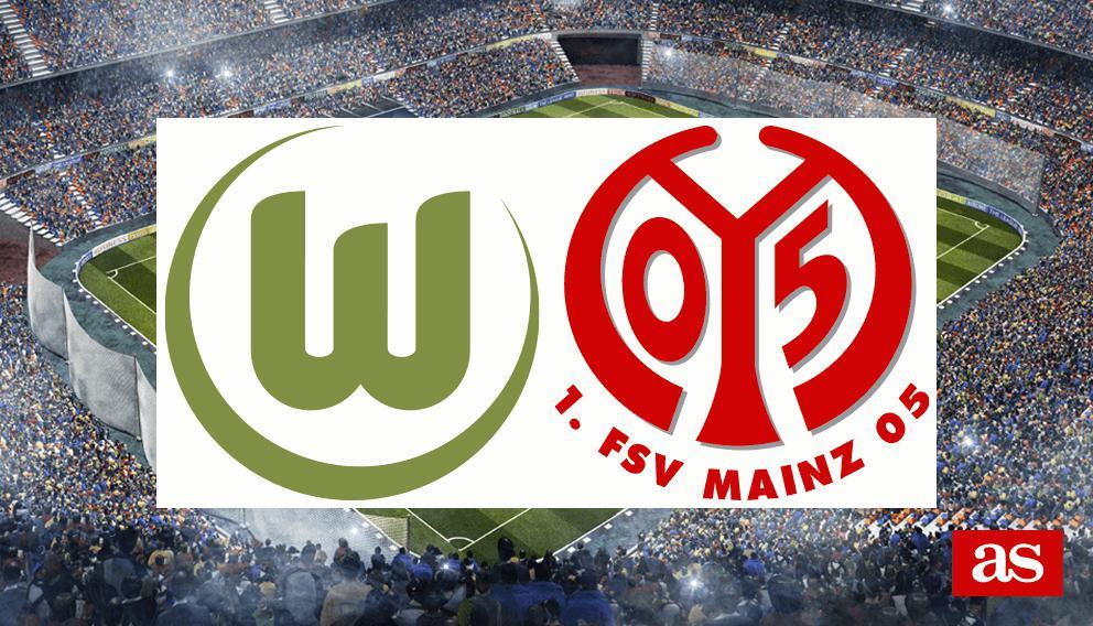 Resultado de imagen para Wolfsburgo vs Mainz