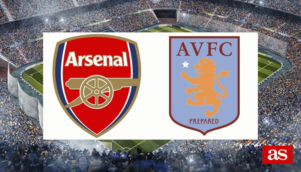 Arsenal 0-3 Aston Villa: resultado, resumen y goles