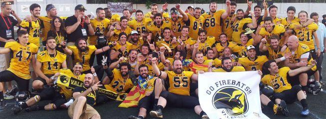 Firebats, campeones de la liga española de fútbol americano
