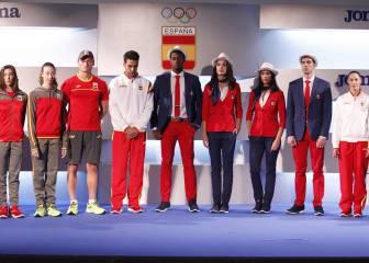 Chaqueta y pantalones largos para el desfile de Río 2016