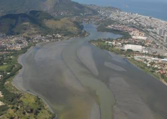 """""""La villa olímpica de Río de Janeiro está bañada en mierda"""""""
