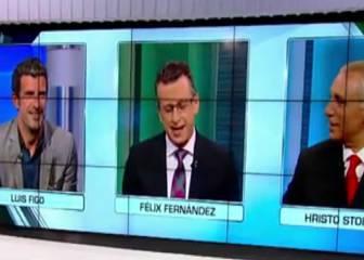 Stoichkov a Figo: 'Si te veo por Barcelona te insulto'