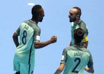 Ricardinho se luce, Portugal avanza y ya hay semifinales