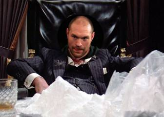 Fury se compara en Twitter con Tony Montana, de Scarface