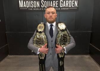 McGregor reta a Mayweather: 'Si peleamos, le noquearé'
