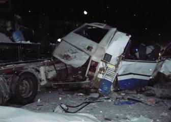10 gimnastas y 2 técnicos rusos mueren en un accidente de bus