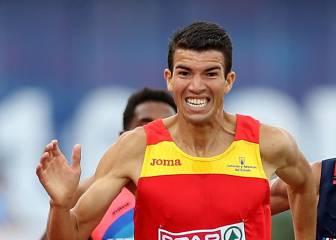 Adel Mechaal, suspendido por la IAAF a tres días del Europeo