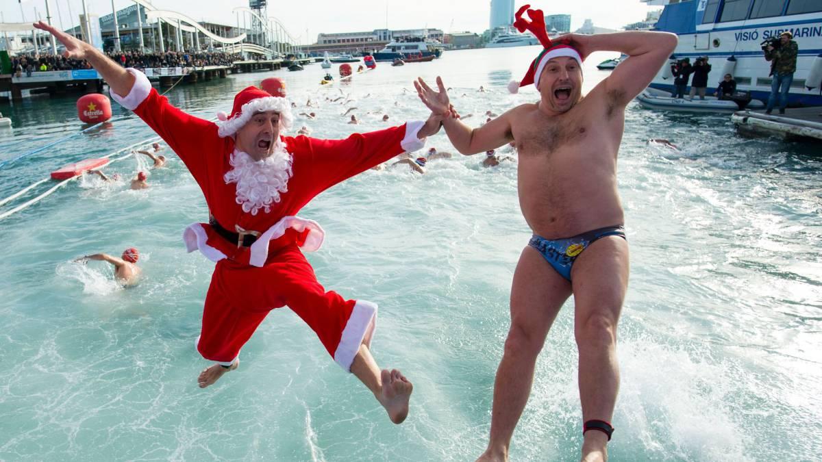 Las imágenes más curiosas de la tradicional Copa Nadal