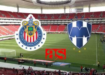 Chivas vs Monterrey (1-0): Resumen del partido y goles