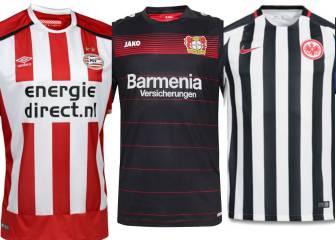 Las camisetas que usará la legión azteca en el fútbol europeo