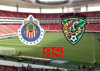 Chivas vs Jaguares de Chiapas (1-4): Resumen del partido y goles