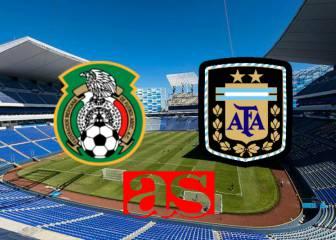 México vs Argentina; Amistoso Sub-23 (0-0): Resumen del juego