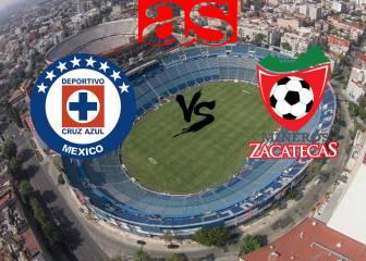 Cruz Azul vs Zacatecas (4-0): Resumen del partido y goles