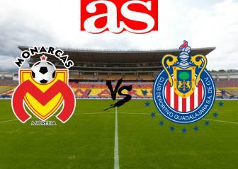 Monarcas Morelia vs Chivas (0-1): Resumen del partido y goles