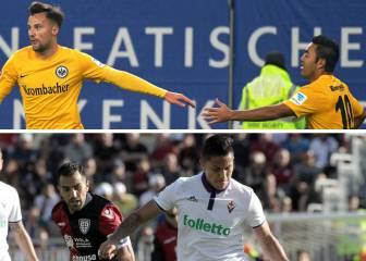 Marco Fabián sigue de dulce; Salcedo saborea la victoria